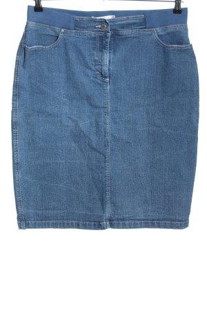 Collection L Jeansrock blau Casual-Look