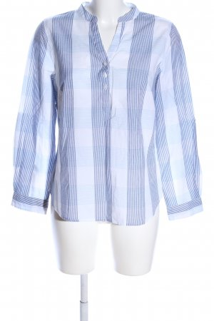 Collection L Long Sleeve Shirt blue-white check pattern casual look