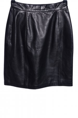 Collection Leather Skirt black casual look