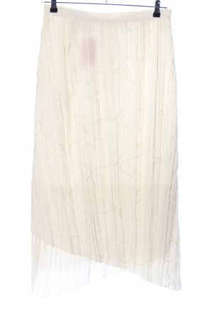Collection Midi Skirt cream casual look