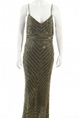 Collection Sequin Dress olive green extravagant style