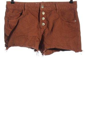 collection pimkie Short en jean brun style décontracté