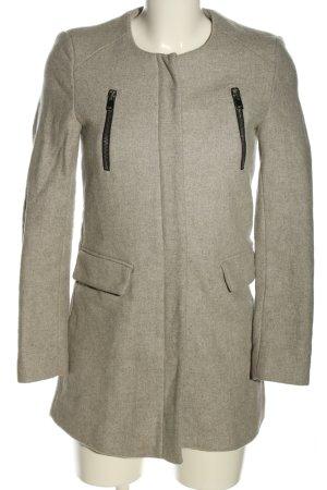 collection pimkie Giacca lunga grigio chiaro puntinato stile casual