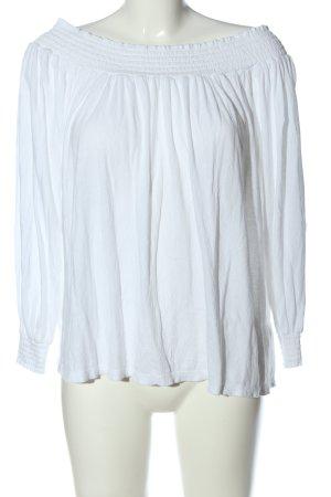 collection pimkie Manica lunga bianco stile casual