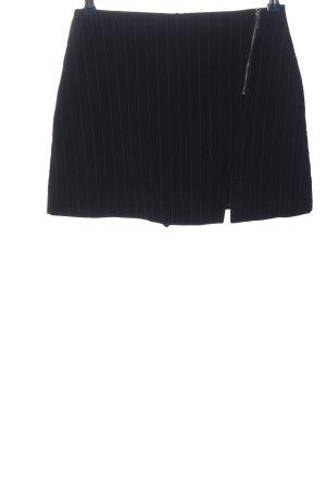 Pimkie Minirock schwarz Streifenmuster Casual-Look