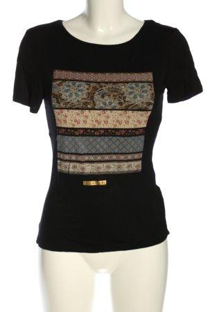 collection pimkie Print-Shirt schwarz Motivdruck Casual-Look