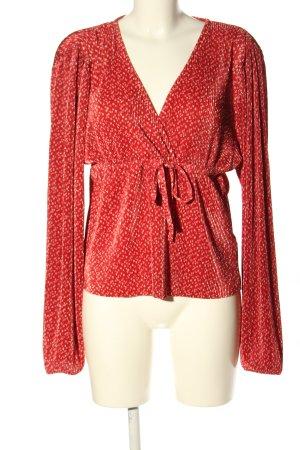 collection pimkie Camicetta da notte rosso-bianco stampa integrale stile casual