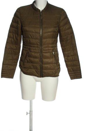 collection pimkie Gewatteerd jack khaki quilten patroon casual uitstraling