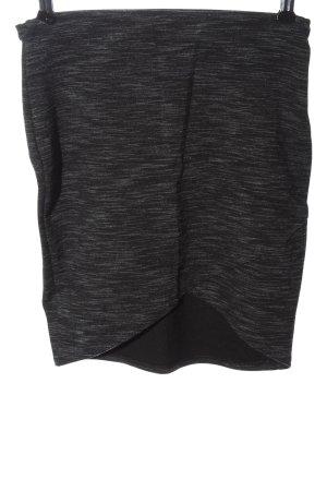 collection pimkie Jupe tricotée noir moucheté style décontracté
