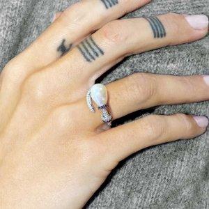 apm Monaco Statement Ring silver-colored