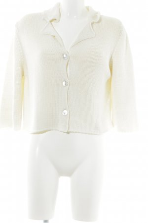 Collection Cardigan natural white casual look
