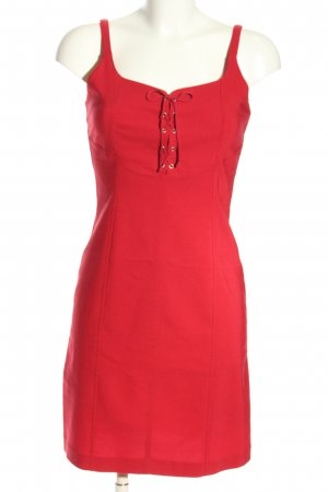 Collection Pinafore dress red casual look