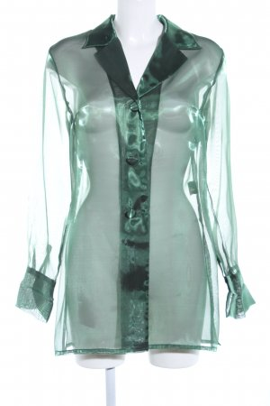 Collection Transparent Blouse green business style