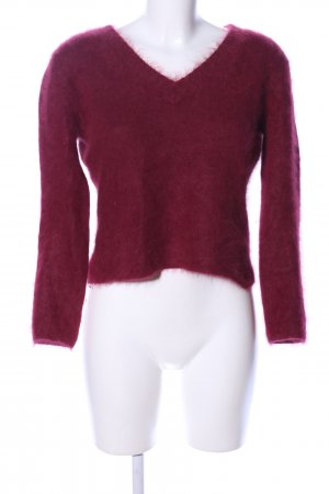 Collection Wool Sweater red casual look