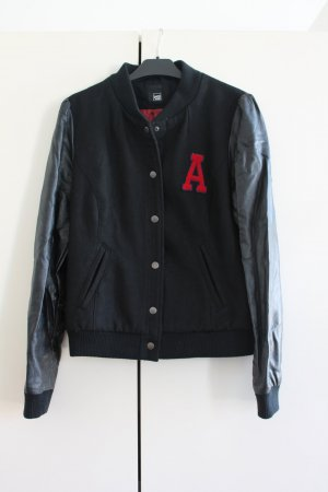 Pimkie College Jacket black-red