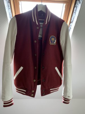 Tommy Hilfiger Denim Giacca college bordeaux