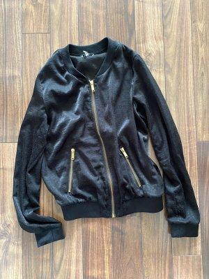 Bershka College Jacket black