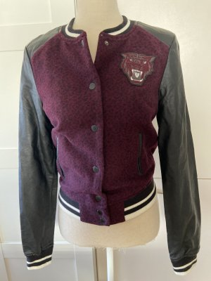 H&M College Jacket multicolored mixture fibre