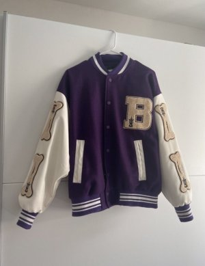 College Jacket lilac