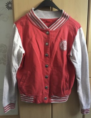 CFL Giacca college rosso-bianco