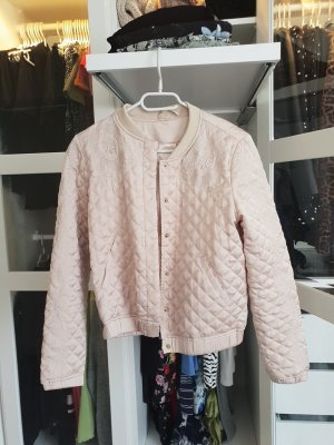H&M College Jacket gold-colored-oatmeal