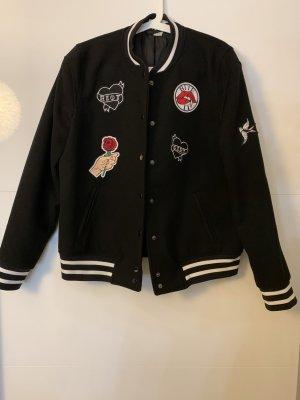 H&M Divided College Jacket black