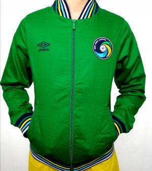 Umbro College Jacket green