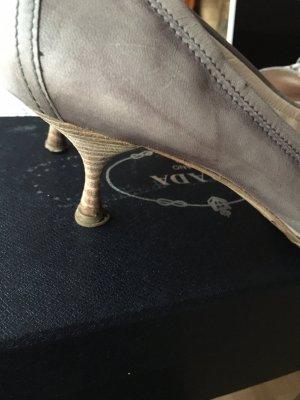 College Schuhe Leder