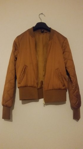 H&M Divided College Jacket gold-colored