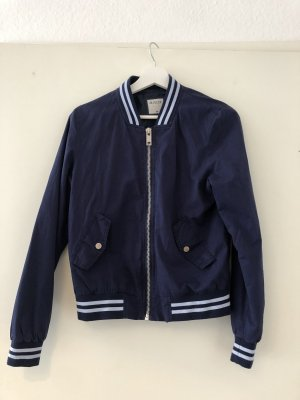 College Jacket white-blue