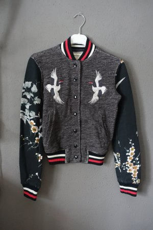Denim & Supply Ralph Lauren Giacca college multicolore Tessuto misto
