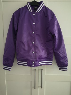Urban Classics College Jacket lilac