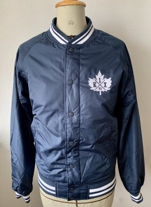 K1X College Jacket dark blue-white