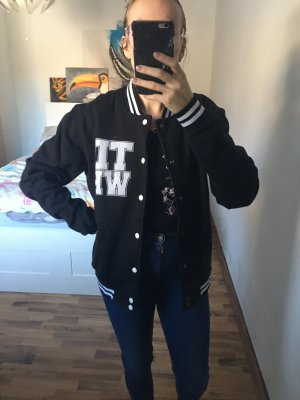 College Jacket black-white