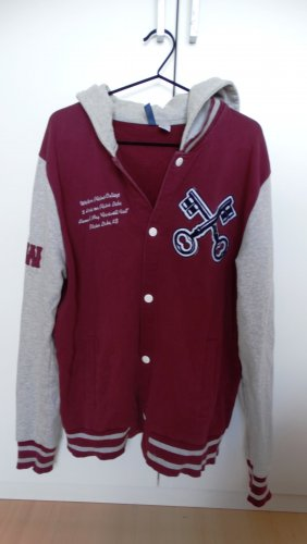 H&M Divided College Jacket multicolored mixture fibre
