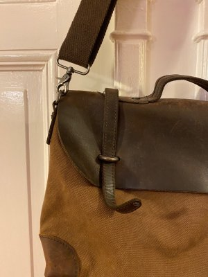 College Bag cognac-coloured leather