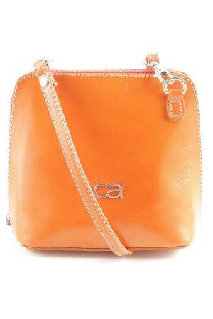 Collezione Alessandro Borsa a spalla arancione chiaro stile casual