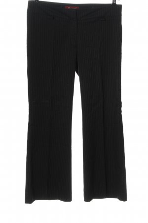 Collezione Suit Trouser black striped pattern casual look