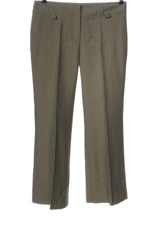 Collezione Suit Trouser khaki striped pattern casual look