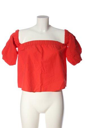 Collezione Blusa alla Carmen rosso stile casual