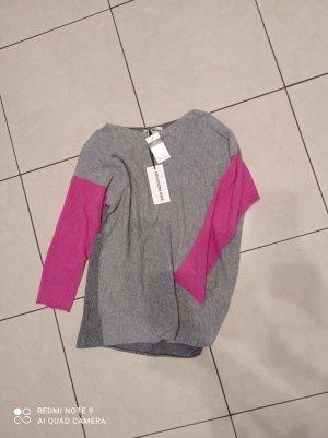Collezione Gaia Cashmere Jumper light grey-pink