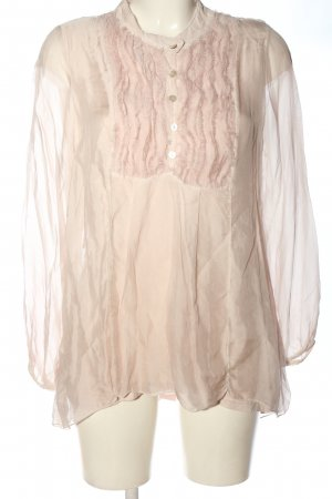 Collezione Gaia Long Sleeve Blouse cream elegant