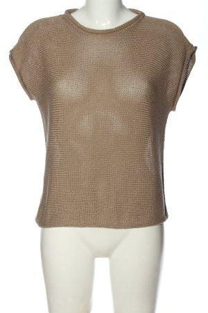 Collezione Gaia Lange cardigan bruin casual uitstraling