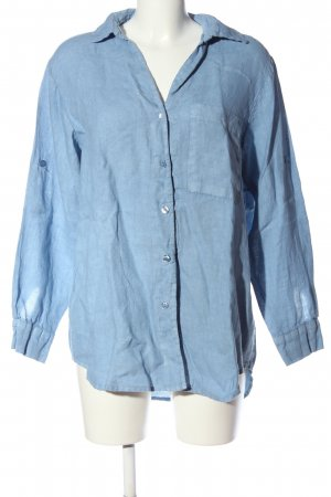 Collezione Gaia Blouse oversized bleu style décontracté
