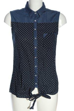 Collezione Shirt Blouse blue-white allover print casual look