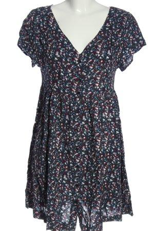 Collezione Shortsleeve Dress multicolored viscose