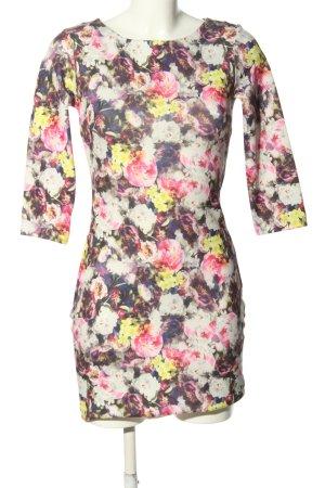 Collezione Mini Dress pink-white allover print casual look