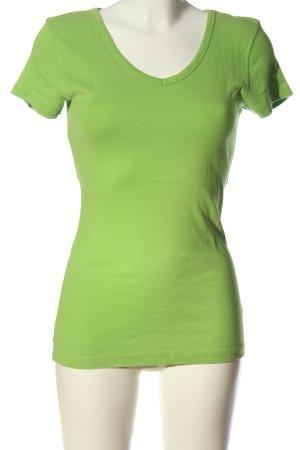 Collezione T-shirt verde stile casual
