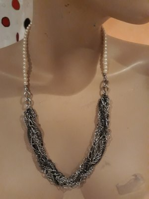 Collier Necklace grey-oatmeal