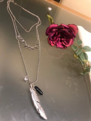 Bijou Brigitte Collier Necklace silver-colored-black